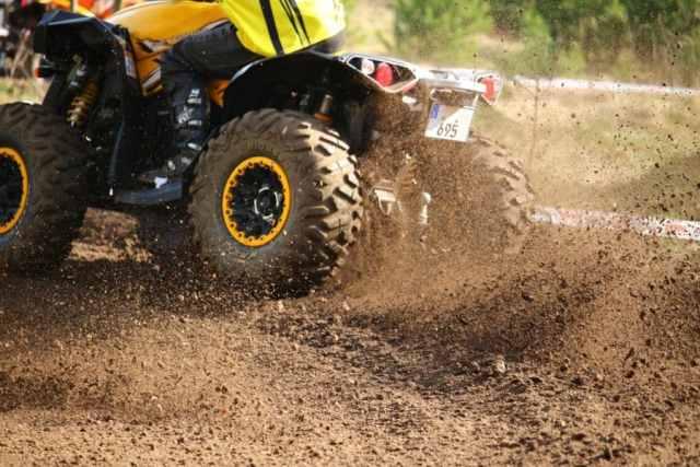 quad tire pressure