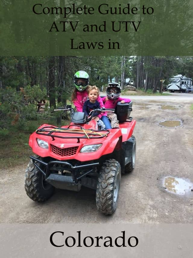A Guide to the ATV and UTV Laws in Colorado