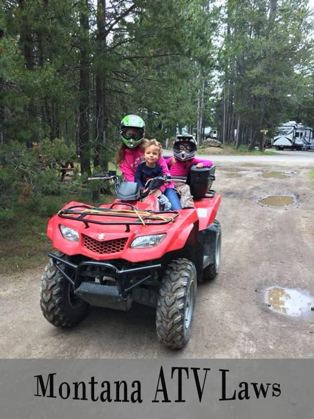 Guide to the ATV and UTV Laws in Montana