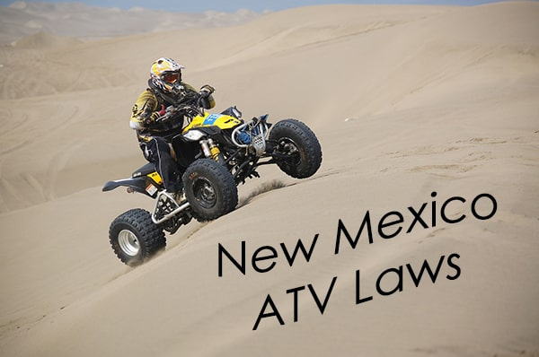 guide to atv and utv laws of new mexico