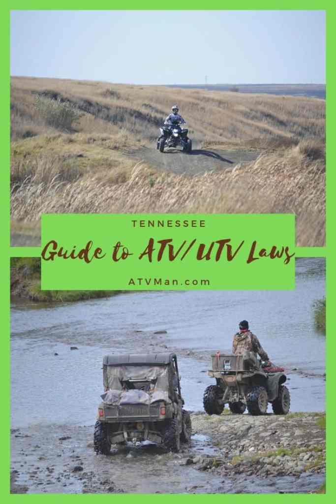 Guide to ATV & UTV Laws in Tennessee – ATV Man
