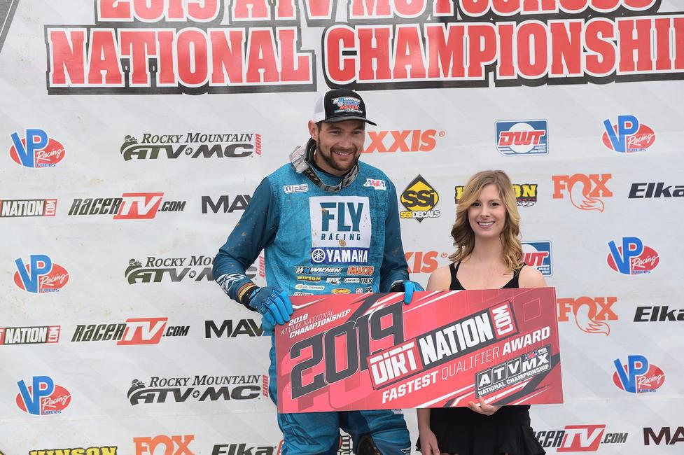 Chad Wienen también ganó el Premio al calificador más rápido de DirtNation.com.