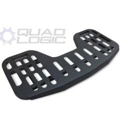 quad logic steel replacement racks for polaris atvs [ 1500 x 1286 Pixel ]