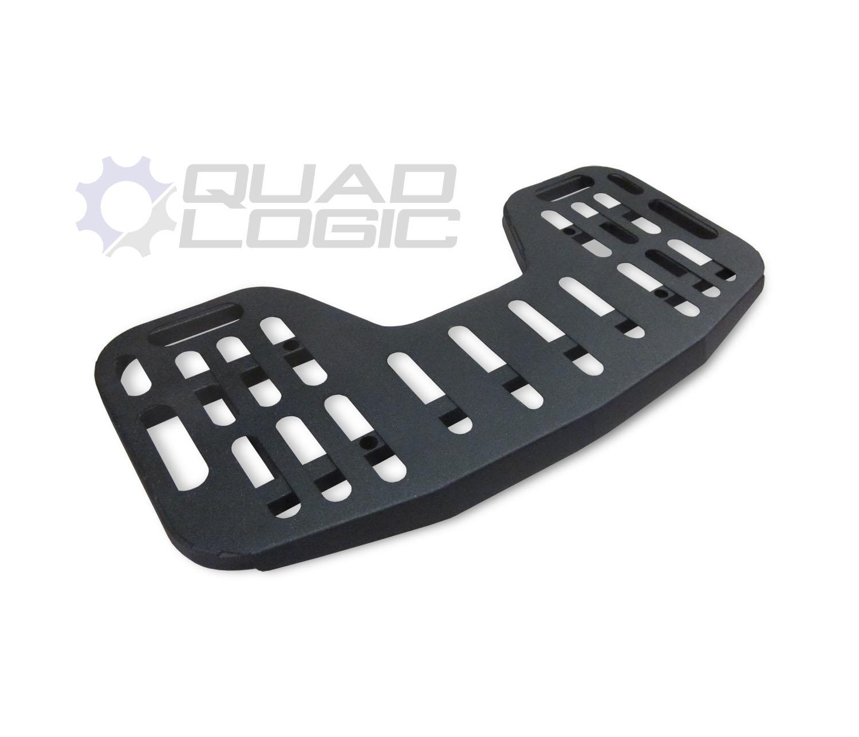 hight resolution of quad logic steel replacement racks for polaris atvs