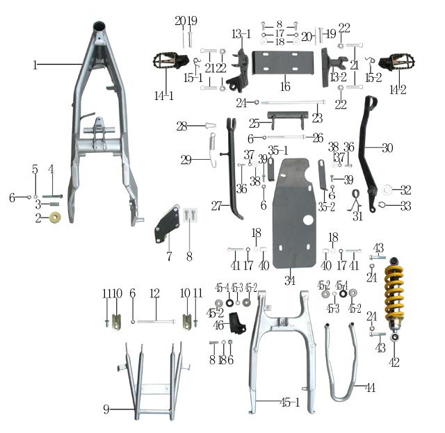 Coolster 125 Atv Engine Diagram. Schematic Diagram