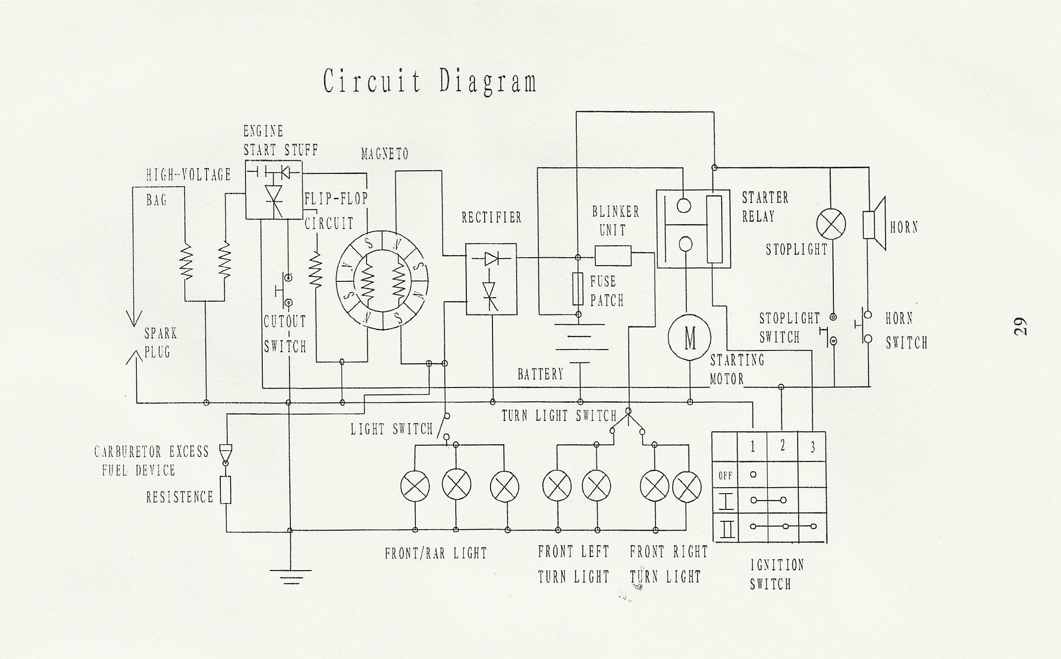 Gy6 Engine Electrical Schematics