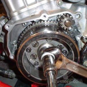 ***z400 Stator And Flywheel Bolt Replacement