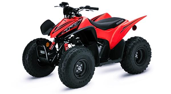2021 Honda TRX90X USA SPECS