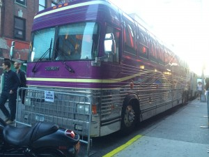 Sir Sly's tour bus
