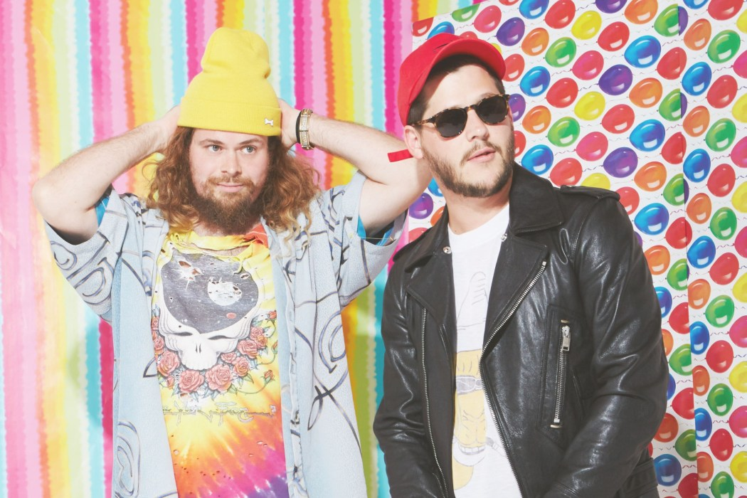 Wavves' Stephen 'Stevie' Pope (left) and Nathan Williams (right) // credit: Alexandra Gavillet