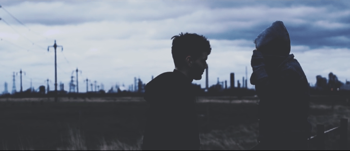 """Screenshot from Cape Cub's """"Closer"""" music video"""