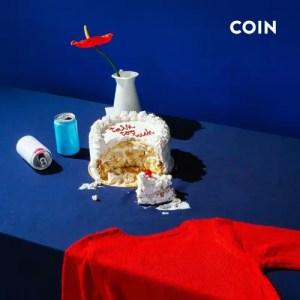 """Talk Too Much"" single art - COIN"