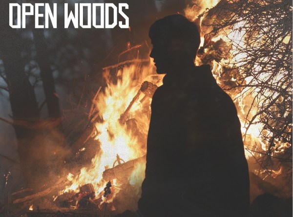 "Luna Tides ""Open Woods"" album art"