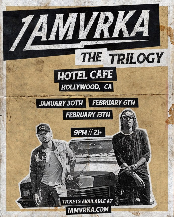 1AMVRKA Trilogy Shows