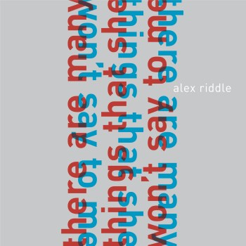 Alex Riddle single art