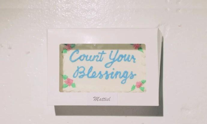 Count Your Blessings - Mattiel