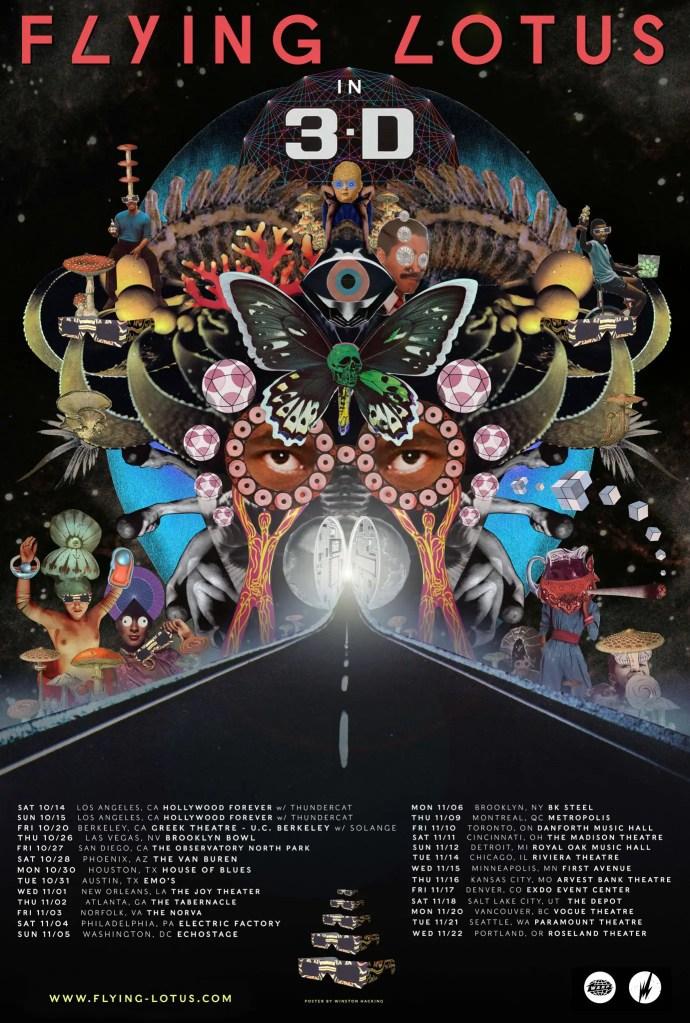 Flying Lotus 3D Tour Dates