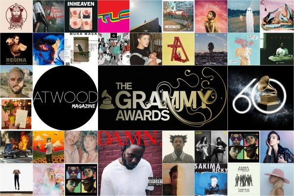 Atwood Magazine's 2018 Grammy Awards