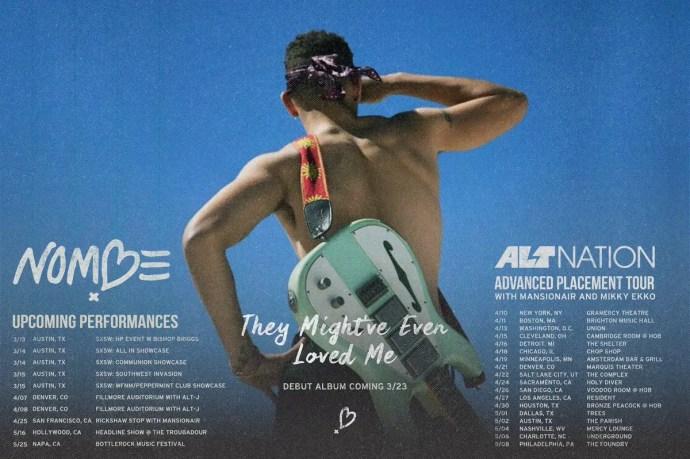 NoMbe 2018 tour dates
