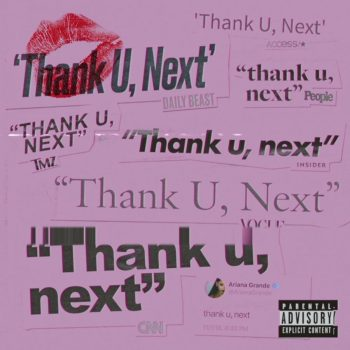 ariana grande thank u next SINGLE
