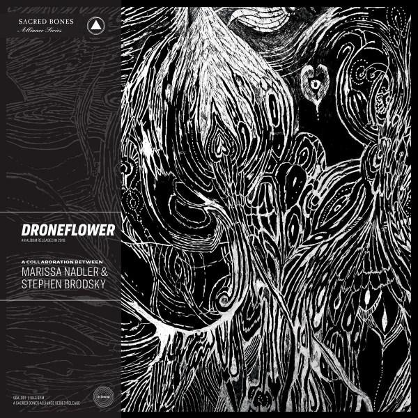 Marissa Nadler & Stephen Brodsky - Droneflower Cover Art