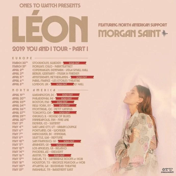 LÉON Tour Poster