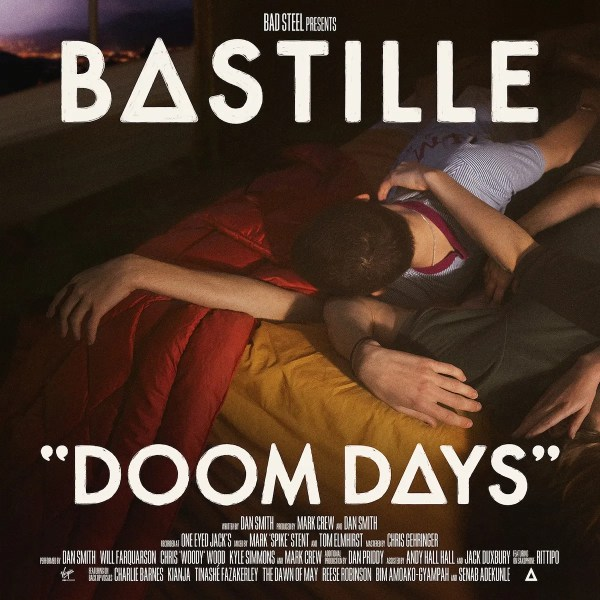 Doom Days, Bastille's third album, will release June 14, 2019 via Virgin Records