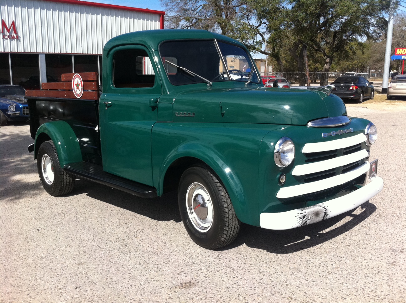 1950 dodge pickup for sale atx car pictures real pics from austin tx streets backyards. Black Bedroom Furniture Sets. Home Design Ideas