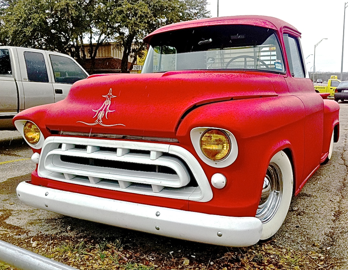 1957 Chevy Custom Task Force 3100 Stepside Pickup In Nw Austin Near Truck Lakeline Mall For Sale
