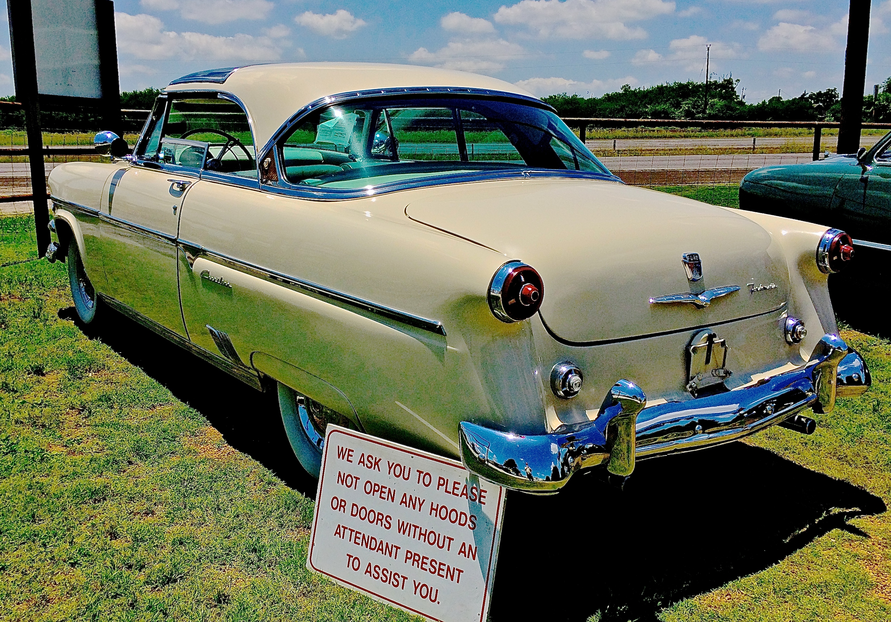 1954 Ford Skyliner For Sale East Of Austin Atx Car Pictures Real Thunderbird Convertible