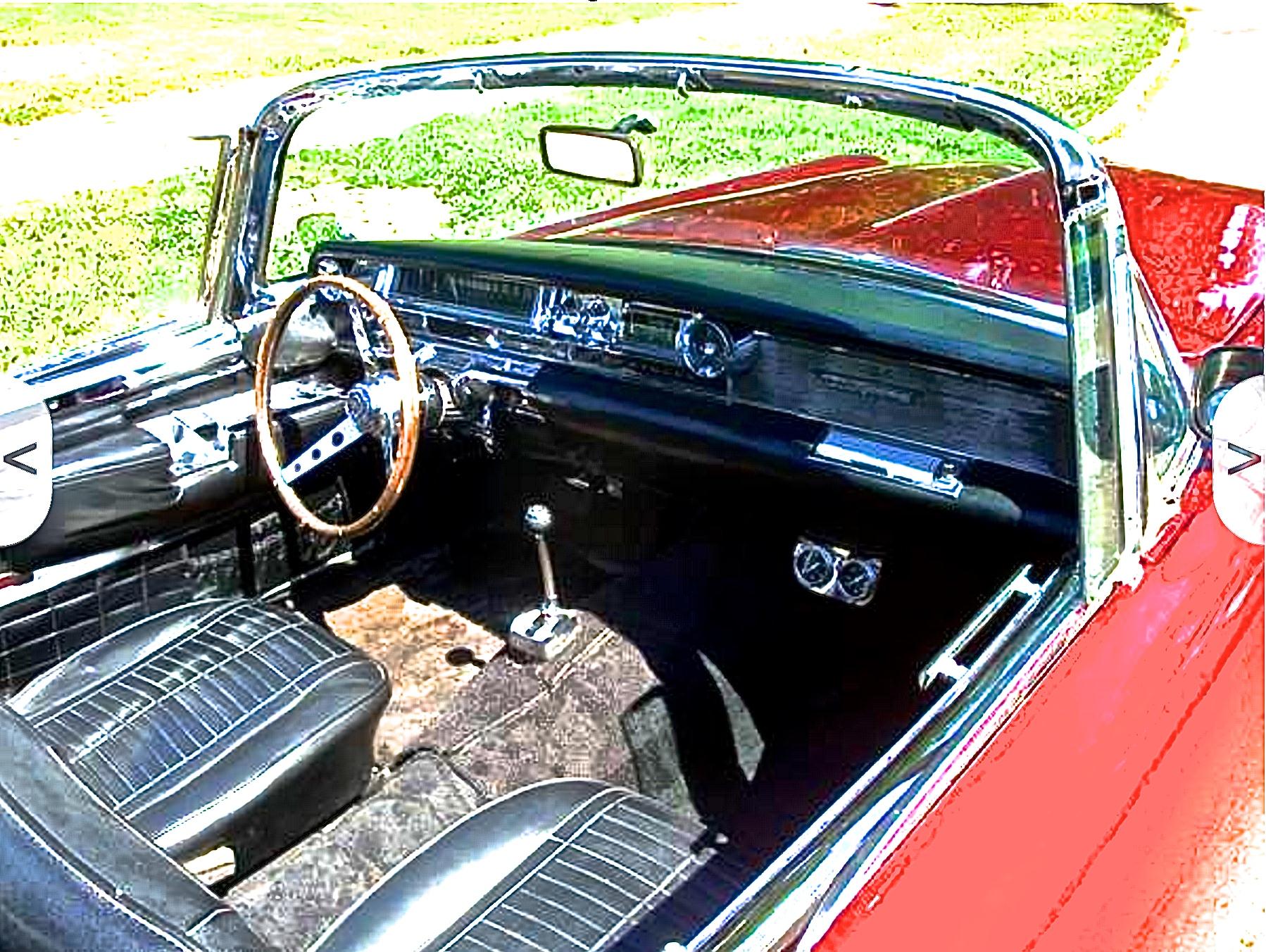 Dallas Craigslist: '56 T-Bird made into a 1965 Cadillac ...