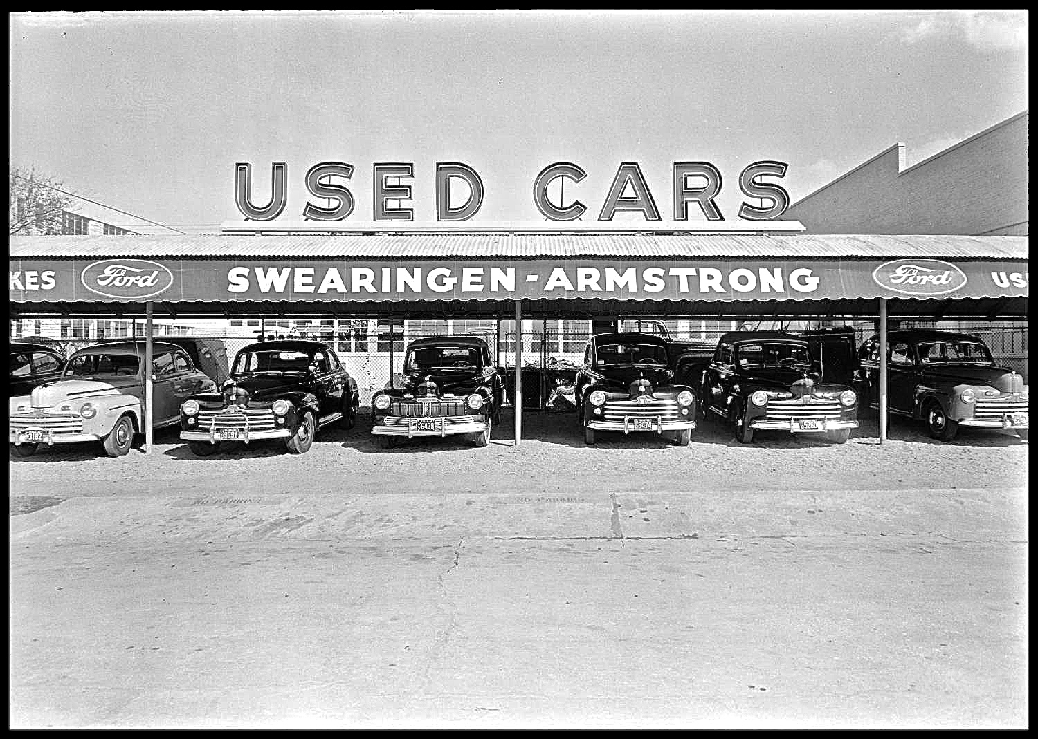Leif Johnson Ford Austin Tx >> Old Austin: Swearingen-Armstrong Auto Sales, 202 W. 1st St ...