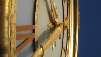 When Clocks Fly: My Three Resolutions