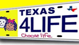 Choose Life License Plate