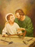 St. Joseph with the Child Jesus