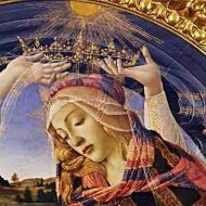 The Madonna of the Magnificant. Botticelli. http://www.wikiart.org/en/sandro-botticelli/madonna-of-the-magnificat-1481