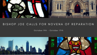 Bishop Joe calls for a Novena of Reparation – this week!