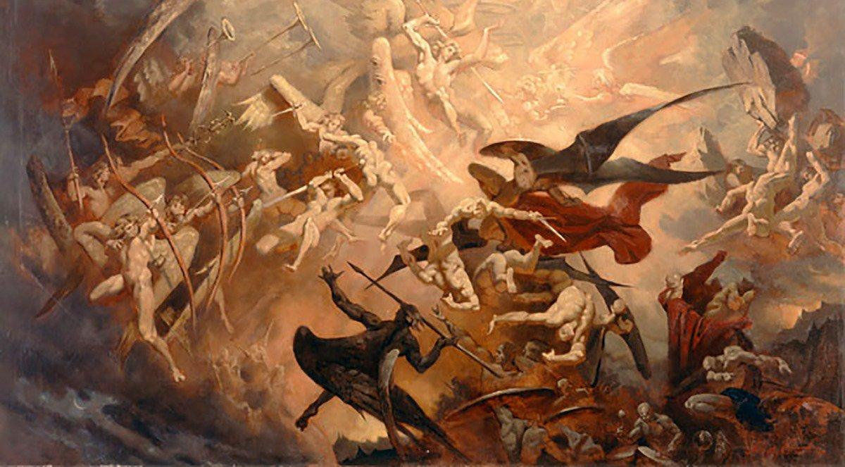 "Angels & Dragons XX: ""War in Heaven"" (Rev. 12:7)"