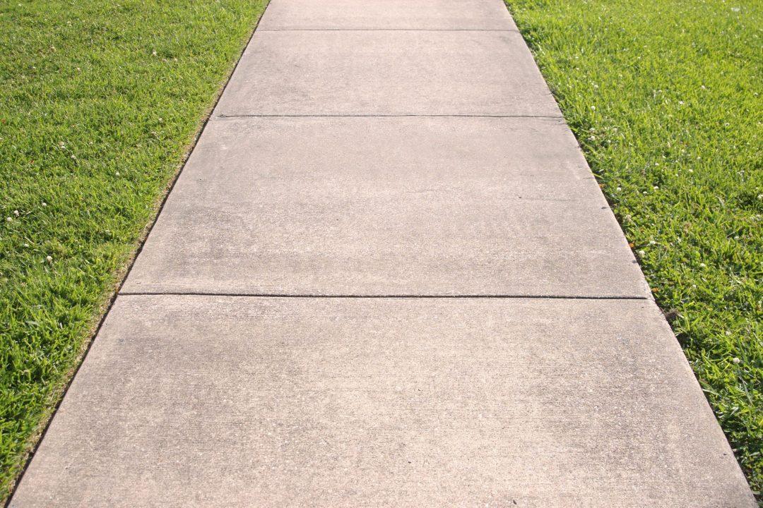 Cement Walkway in Austin, Texas