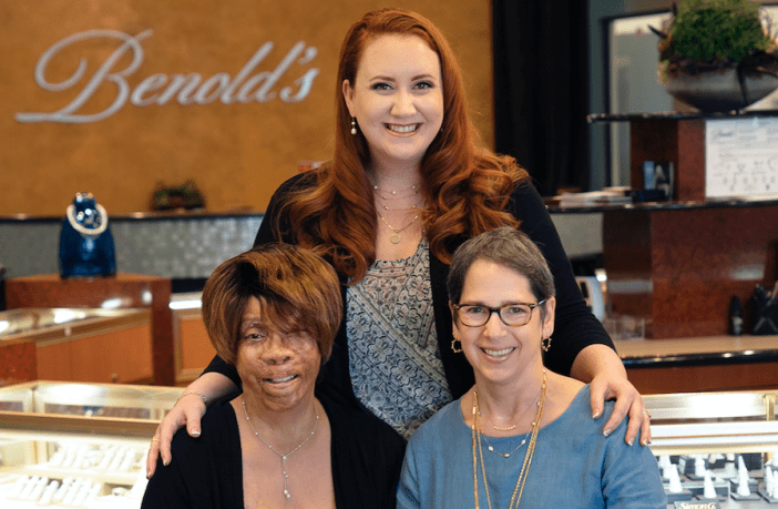 Benold's jewelry staff