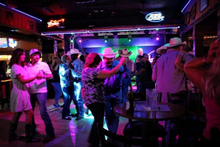 Two-stepping at Rockett Cafe & Club
