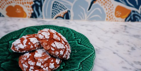 Le Politique's Red Velvet Gooey Butter Cookies