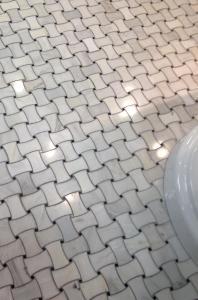 Winning tile floor