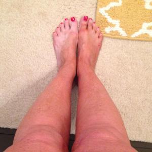 Darker legs