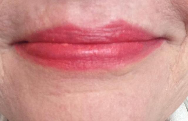 lipstick no gloss yet