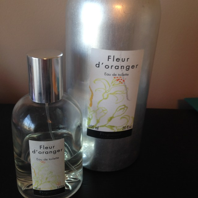 Fragonard Fleur d' Oranger and refill