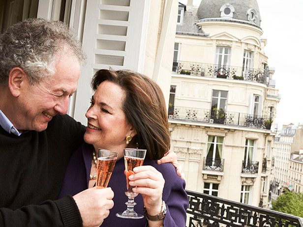 Ina and jeffrey in paris