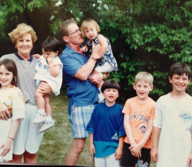 parents wiwth the grandkids