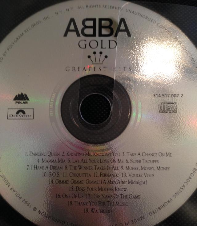 Abba. My guilty pleasure