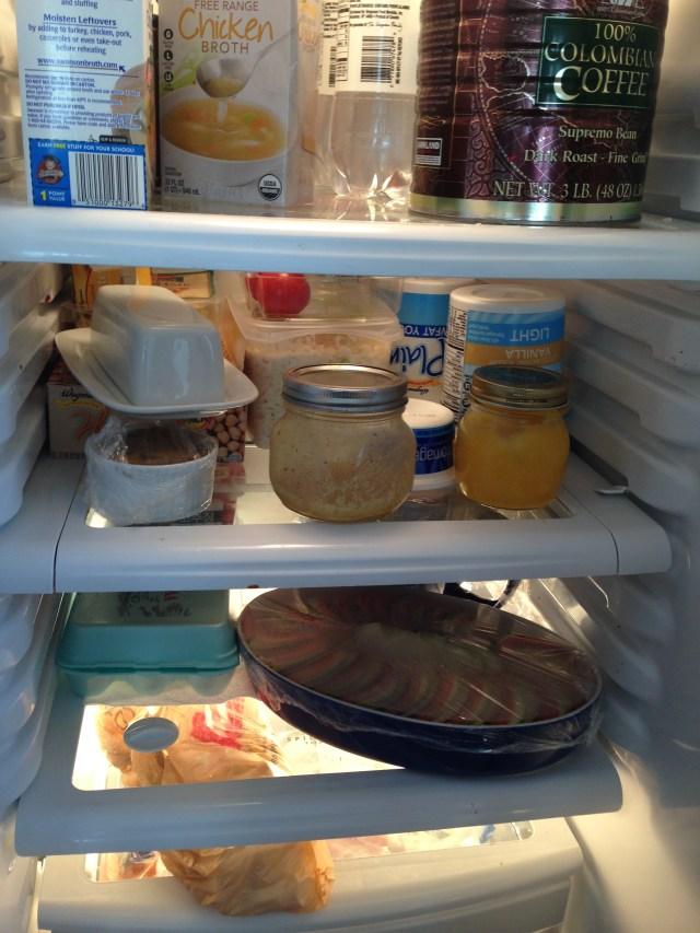 Fridge full of food I've prepared